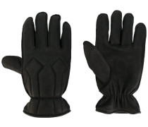 Lederhandschuhe mit elastischen Bündchen