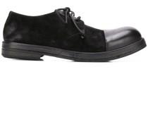 Derby-Schuhe mit Kontrastkappe