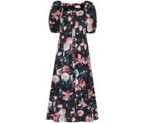 'Mariona' Jacquard-Kleid