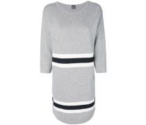 Pulloverkleid mit Kontraststreifen