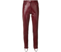 skinny biker trousers