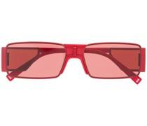Eckige 'GV' Sonnenbrille