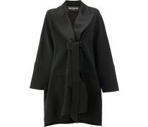 Mantel mit Schleifenverschluss