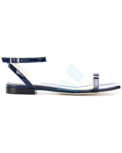 Sandalen mit Vinyl-Riemen
