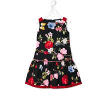 Kleid mit Blumen-Print - kids - Baumwolle - 6 J.