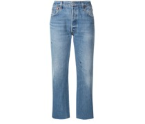 'Stove Pipe' Taillenjeans