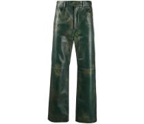 Lederhose im Used-Look