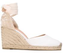Wedge-Sandalen mit Knöchelband - women