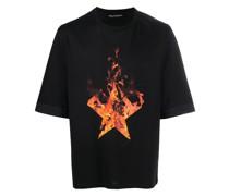 'Firestars' Oversized-T-Shirt