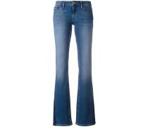 Halbhohe Bootcut-Jeans