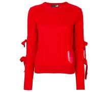 Pullover mit Schleifen-Details