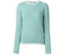 round neck sweater - women - Baumwolle/Elastan