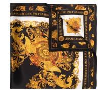 Seidenschal mit Barocco-Print