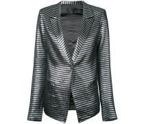Iggy metallic stripe blazer
