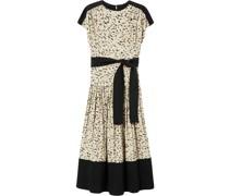 Kurzärmliges Kleid mit Print