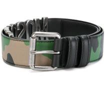 camouflage logo belt