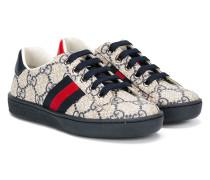Sneakers mit Monogrammmuster