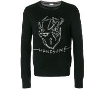 'Handsome' Intarsien-Pullover