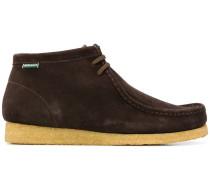 Chukka-Boots mit Kontrastsohle