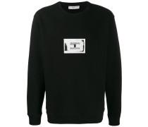 Sweatshirt mit Kontrast-Patch