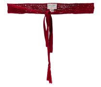 macramé tied belt