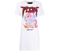 T-Shirtkleid mit Einhorn