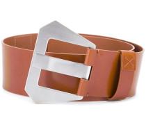 oversized buckle belt