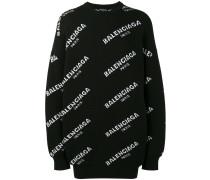 Oversized-Sweatshirt mit Logo-Print