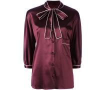 - Hemd mit Schleife - women - Seide/Elastan - 42