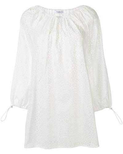 'Moab' Kleid mit Lochstickerei