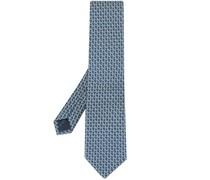 Gancini-print tie