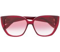Cat-Eye-Sonnenbrille mit Farbverlauf