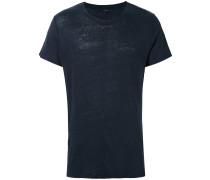 'Jaoul' T-Shirt - men - Leinen/Flachs - M