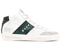 Gestreifte High-Top-Sneakers