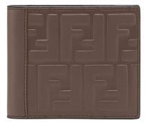 embossed FF wallet