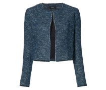 Cropped-Bouclé-Jacke - women