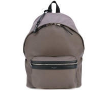 contrast panel backpack - men