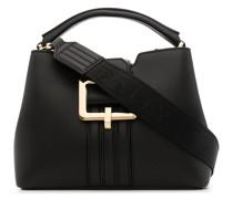 Handtasche mit Metallschnalle