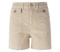 Shorts aus Kord