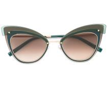 Sonnenbrille mit Cat-Eye-Gestell - unisex