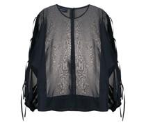 Semi-transparente Bluse