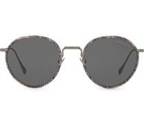 Sonnenbrille in Weboptik