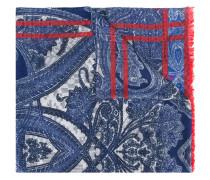 Schal mit Print - men - Seide/Baumwolle/Wolle