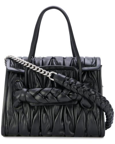 Gerüschte Handtasche