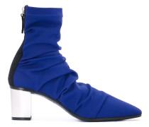 Stiefel mit Blockabsatz - women - Leder/Neopren