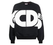 Sweatshirt mit Oversized-Logo