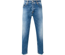 tapered jeans - men - Baumwolle/Elastan - 31