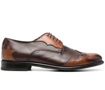 Oxford-Schuhe im Patchwork-Look