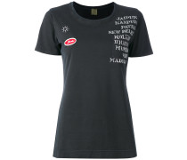 T-Shirt mit verziertem Print - women