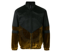 velour panel jacket
